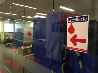 Blood Drive in PC by appointment this Saturday
