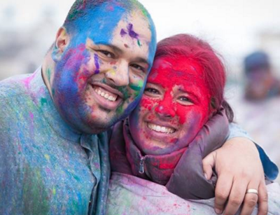 Celebrate Holi, the Indian Festival of Colours on March 26, in Vaudreuil-Dorion