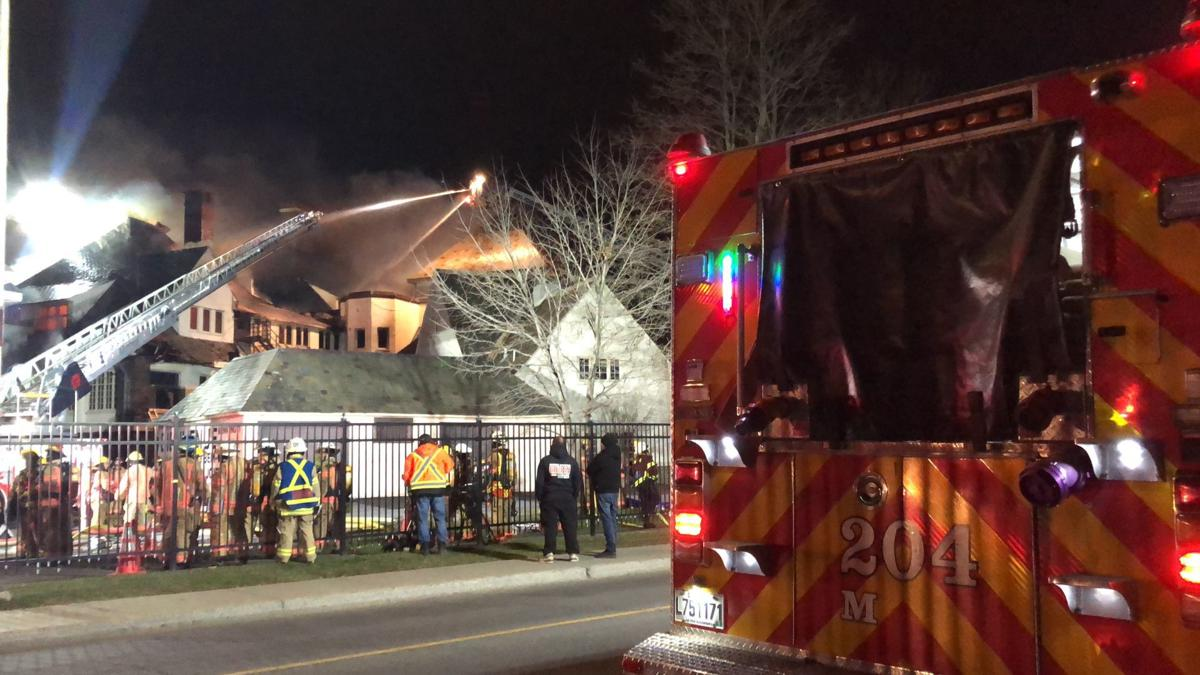 St-Anne's Academy on fire Sunday night