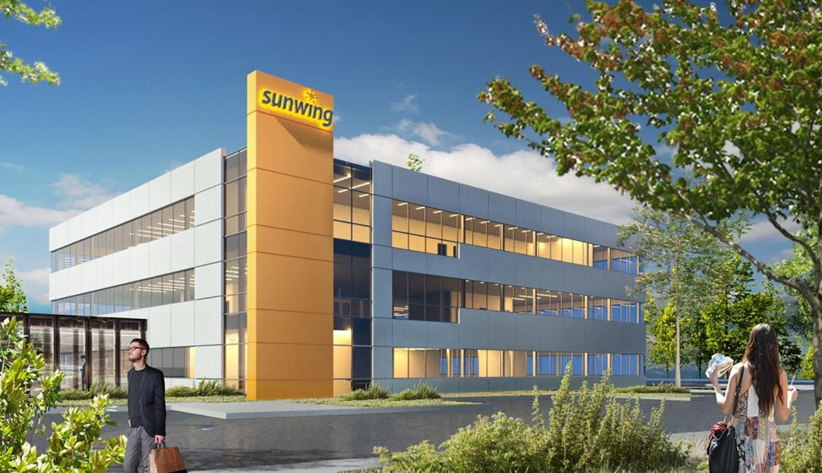 Sunwing's Quebec headquarters moving to Laval in the summer of 2020
