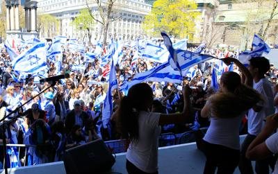 Israel rally takes place May 9 at Cabot Square