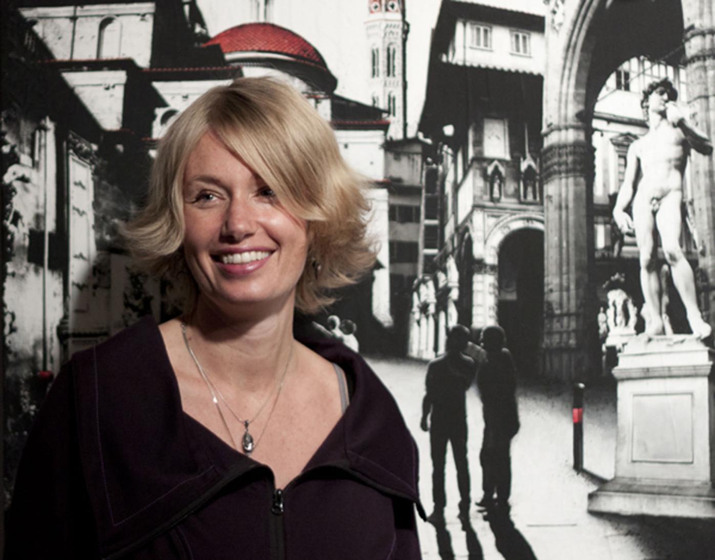 Visual artist Denise Buisman Pilger exhibits