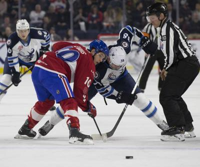 Laval bags one Moose lets second get away