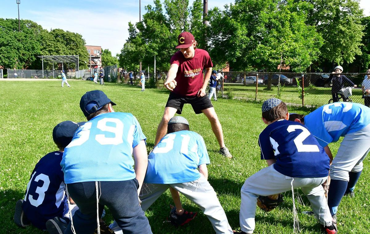 db120607d858e Limmud Centre teams up with Concordia to teach students about baseball