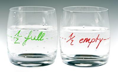 Suzanne Reisler Litwin: Half Full or Half Empty?