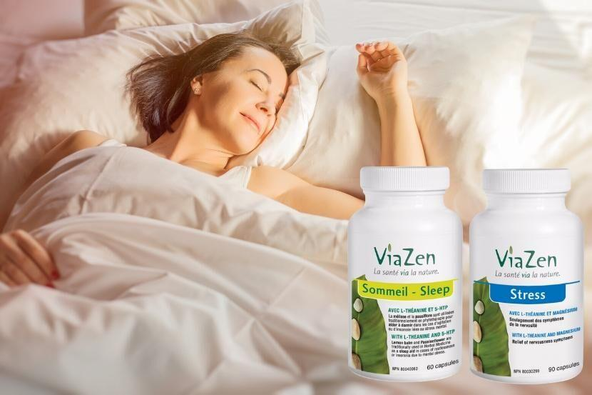 Healthy Living With TAU: NATUROPATH'S FAVORITE PRODUCT - Via Zen Stress and Sleep