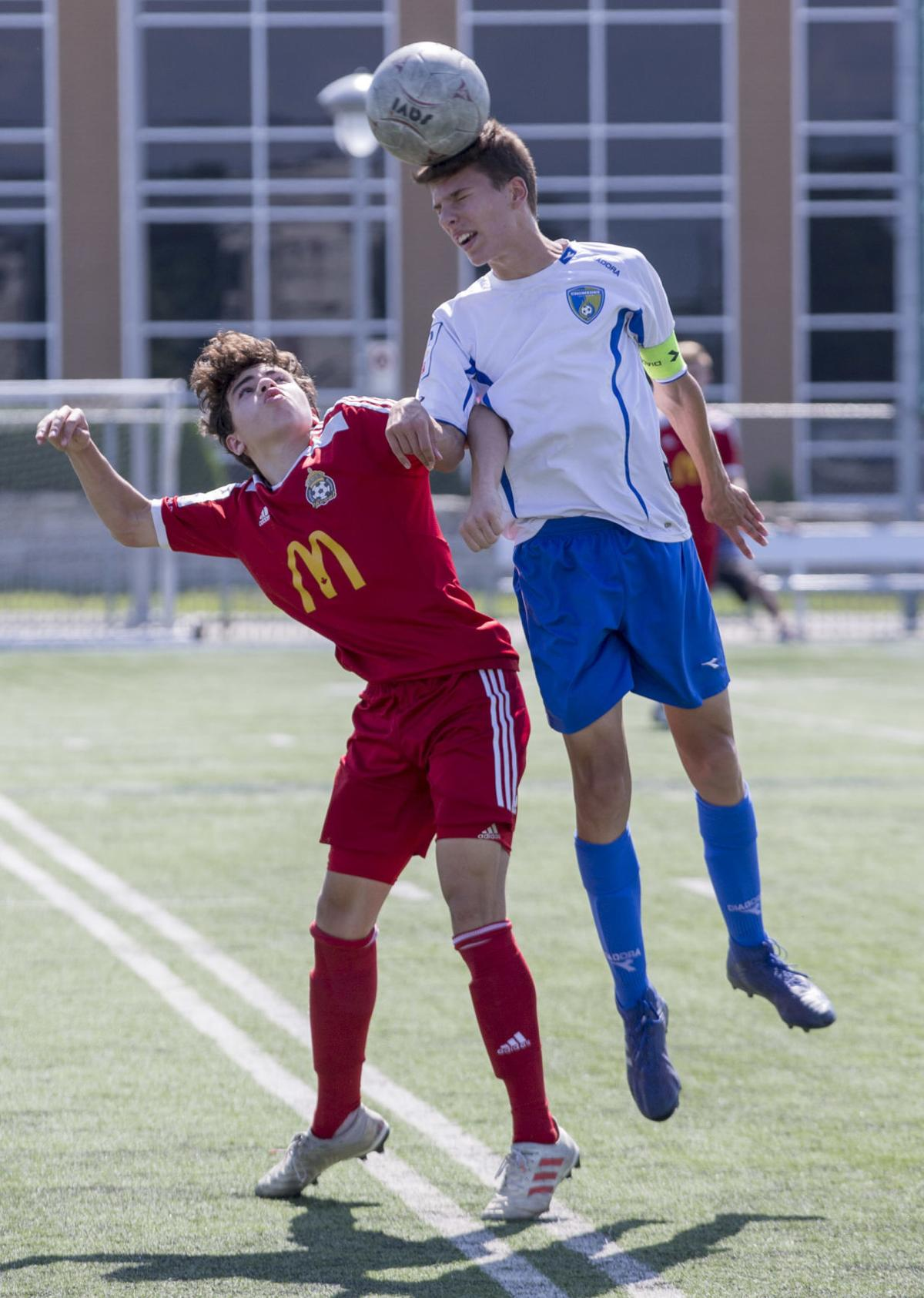 Chomedey cools down Beauport 3-0 in blistering heat