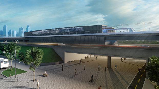 CDPQ tweaks their massive commuter rail project