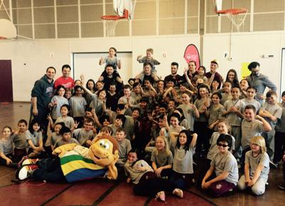 Royal Vale School students break Heart and Stroke Foundation's provincial Jump Rope record