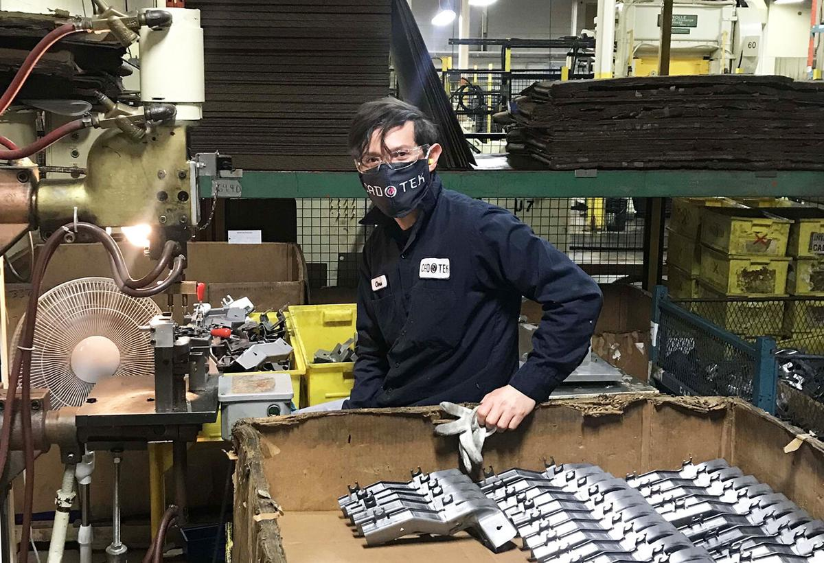 Local Company Produces Reusable Medical-Grade Masks