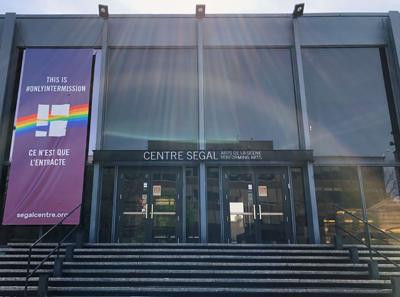 Segal Centre preparing to light up the stage again
