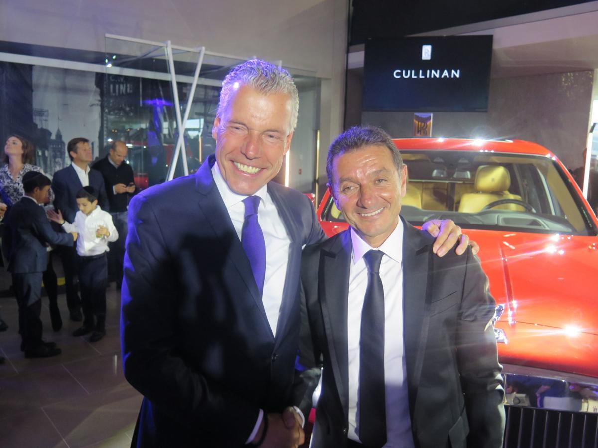 Rolls-Royce launch