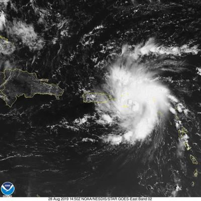 Tropical Atlantic heating up - Dorian expected in Florida by the weekend