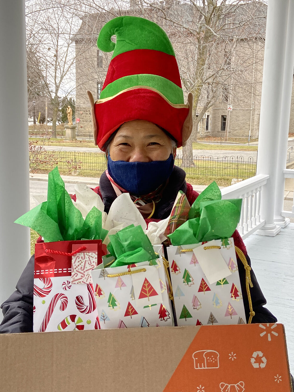 Christmas cheer delivered to seniors by teams of volunteers