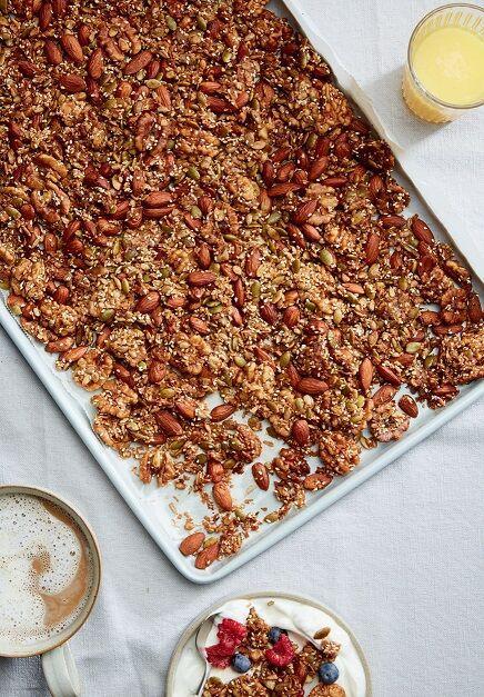 Recipe: Grainless Ghee-nola