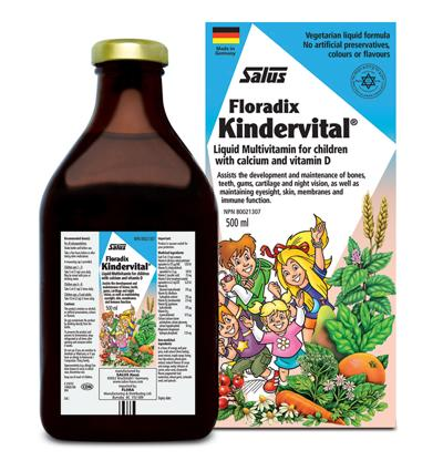 Kindervital Multivitamin for children