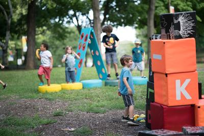 Piknic Électronik's Petit Piknic is back June 23 to Sept. 8 with activities for the whole family