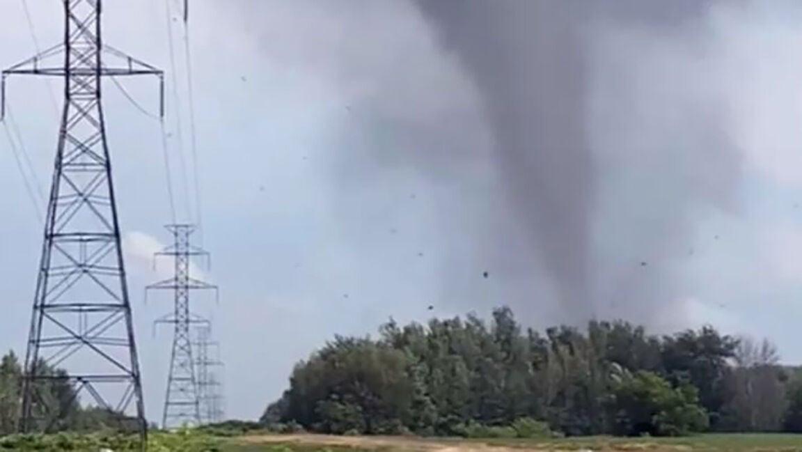 Tornado touches down in Mascouche
