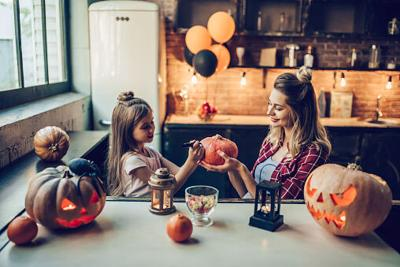 Supermom In Training: What we're doing for our quarantine Halloween