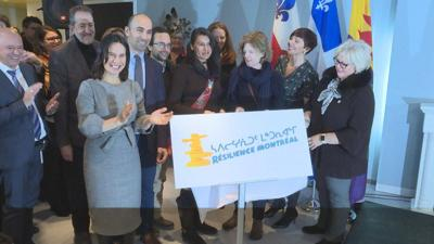 'Resilience' project provides a warm, safe space for Cabot Square's homeless