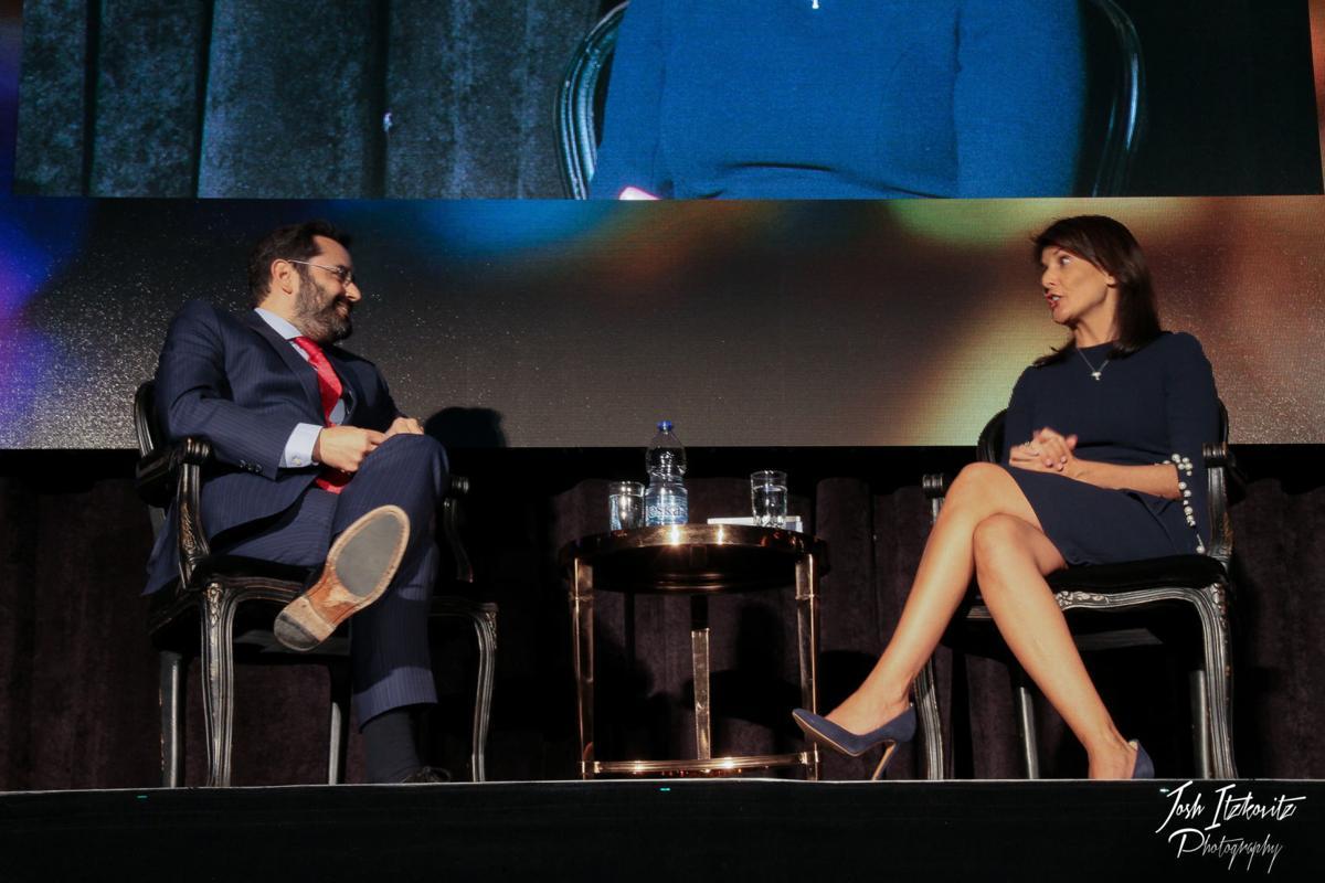 Former UN Ambassador Nikki Haley enthralls Montreal audience