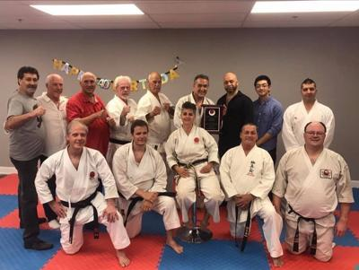 Karate instructor teaches his students to be good people
