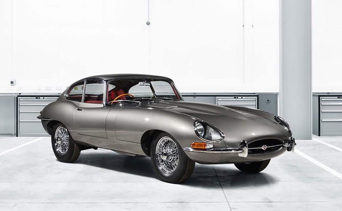 Jaguar rebirths the E-type ... and it's the opposite of painful
