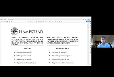 Hampstead tables 2019 financial report