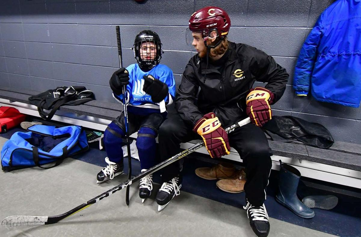 Limmud Centre kids showcase puck skills in front of sold out crowd