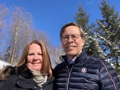 Suzanne Legge and Jeff Orr