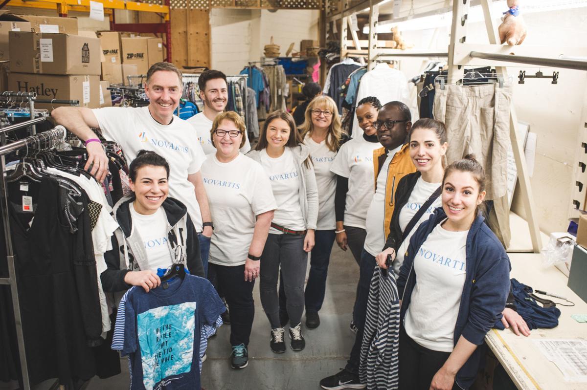 Novartis gives back for Community Partnership Day | West Island News