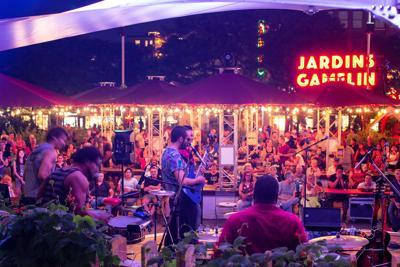 Eight musical series 100%-Montreal in Les Jardins Gamelin