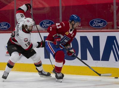Belleville's third period surge hands Rocket first loss of the season