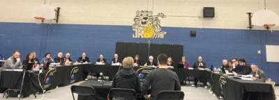 LBPSB Major School Change assembly meeting