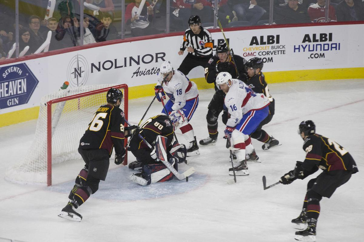 Rough ride for Rocket in opening weekend of AHL campaign