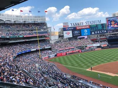 A bucket list experience at Yankee Stadium spikes Expos