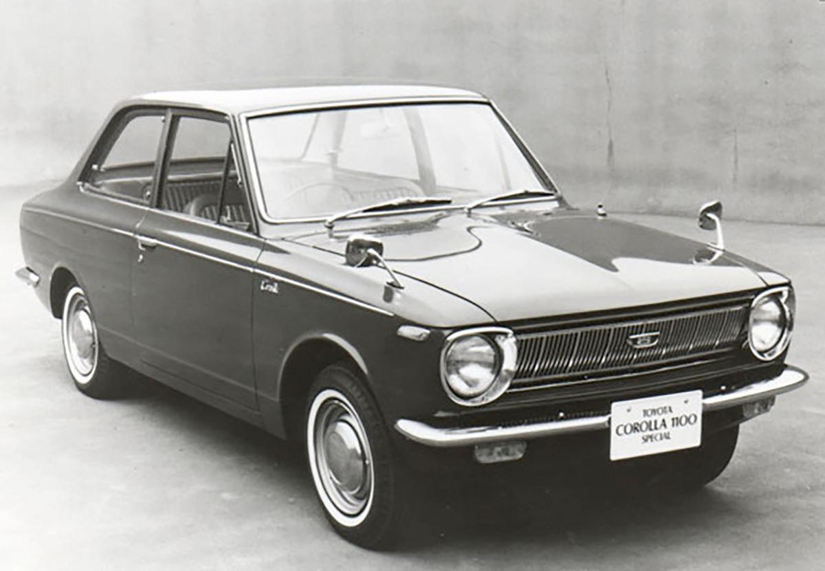 Corollas have been on the road for 50 years