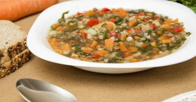 Healthy Living With TAU: A very filling vegetable soup