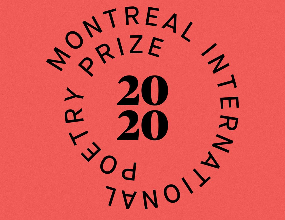 Deadline to enter the Montreal International Poetry Prize is June 1 with $20,000 prize at stake
