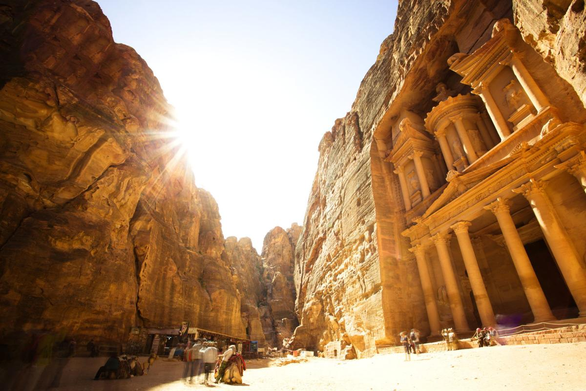 Get lost in the historical beauty of Petra, Jordan