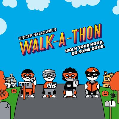 Parenting 101: In lieu of trick-or-treating, do the UNICEF Halloween Walk-A-Thon!