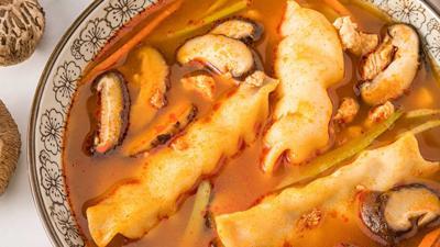 Recipe: Chicken soup with dumplings