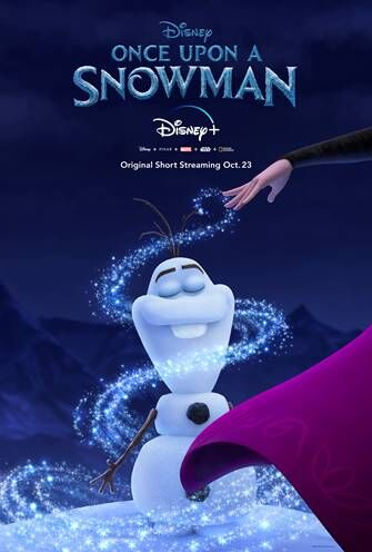 """Entertainment: The previously untold origins of Olaf are revealed in the new short """"Once Upon A Snowman"""""""