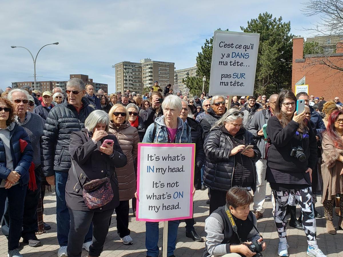 Bill 21 'a form of segregation': St. Laurent MP tells rally