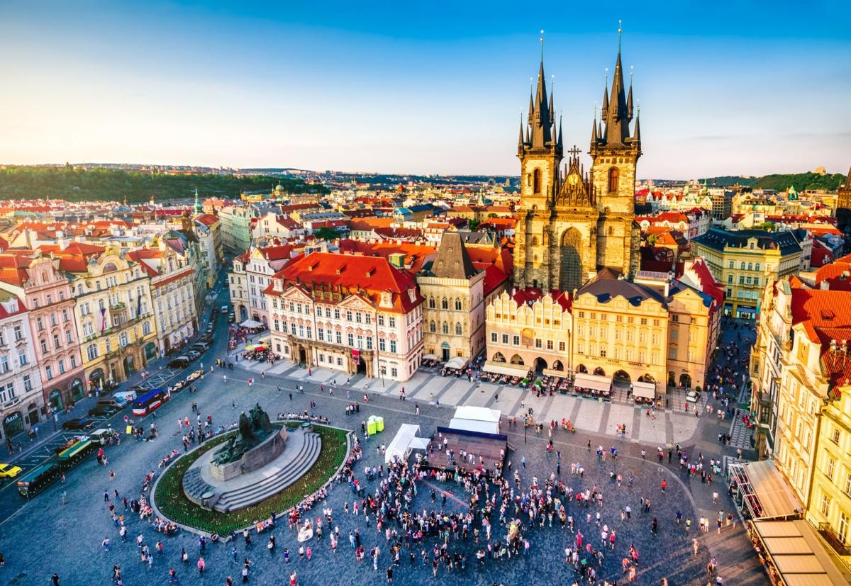 Prague is a capital city with character