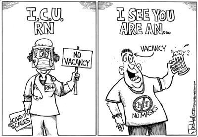 Heller cartoon, Nov. 18, 2020