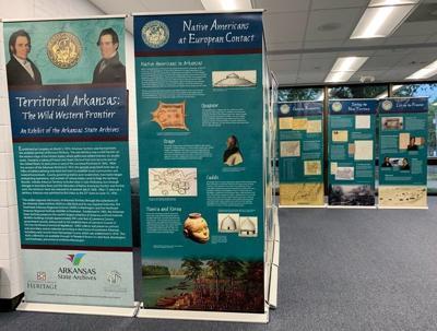 Territorial Arkansas exhibit