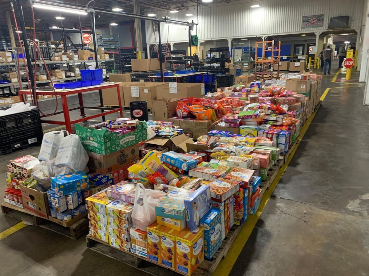 Heber Springs manufacturer donates food