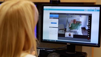 Video calling at Baptist