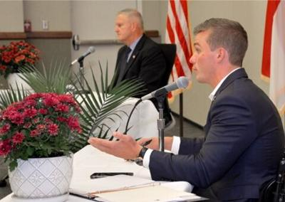 Cawthorn, Davis debate at SCC